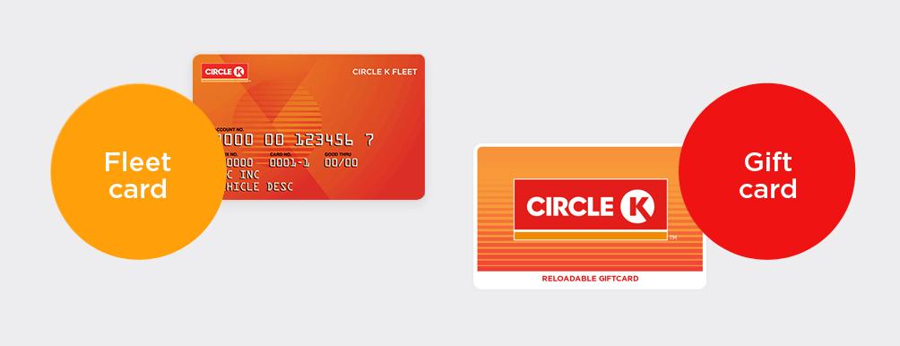 fleet gift cards circle k